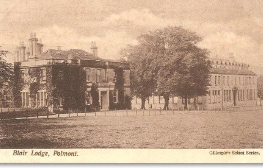 forgottengreens the golf history website - Blairlodge School, Polmont
